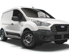 Ford Transit Connect Leader SWB 2021 3D model