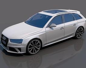 3D model Audi RS 4
