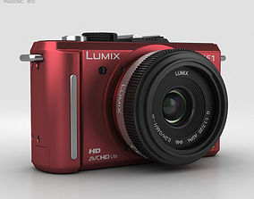 Panasonic Lumix DMC-GF1 Red 3D