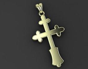 RELIGIOUS CROSS gold 3D print model