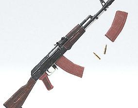 AK-47 3D model PBR