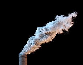 Chimney Smoke VDB 20s sequence 3D model