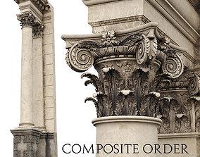 3D architectural Composite Order Palladio
