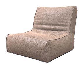 Bag Lounge 3D asset