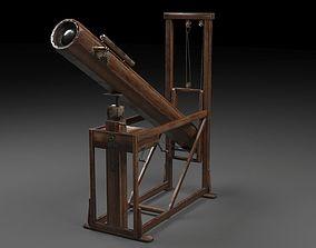 Telescope Hershel 3D model