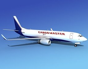 Boeing 737-800 Cargo Master 3D model