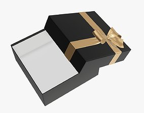 3D Wrapped Christmas gifts 03