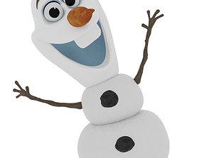 3D model Olaf- Frozen Snowman