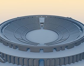 Amphitheater of Pompeii 3D model