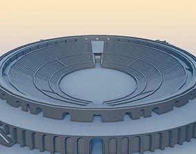 Amphitheater of Pompeii 3D asset
