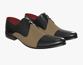Mens classic shoes 08 3D