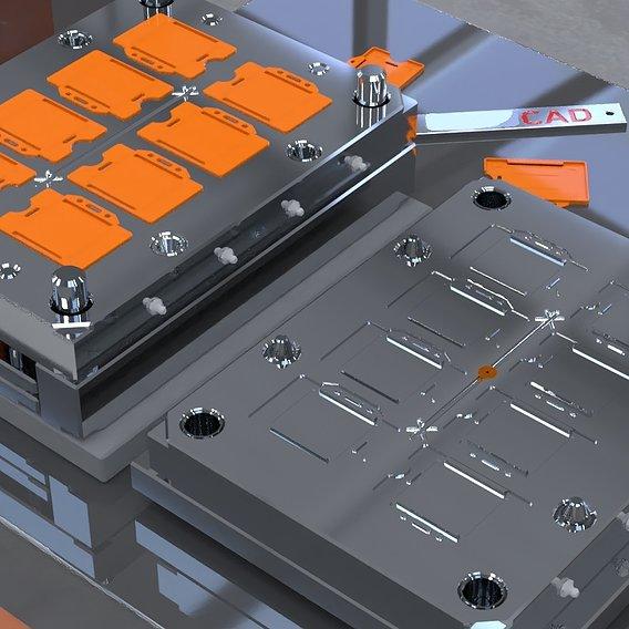 Card Holder Mold Design 3D print model