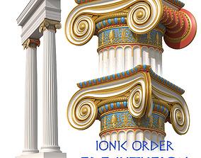 3D model Ionic Order Erechtheion