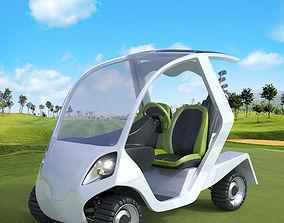 3D Golf Cart Concept