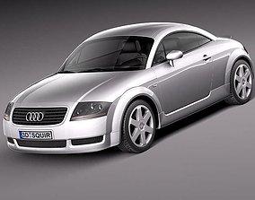 3D Audi TT coupe 1998-2005