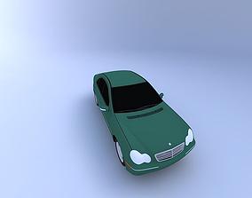3D model 2001 Mercedes C320 vehicle