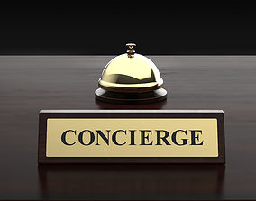 bell and concierge 3D