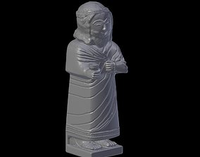 Statue of the Hittite king Mutallu 3D Model