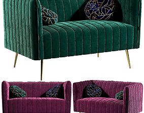 3D model Zhing Verde Sofa