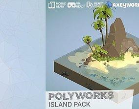 PolyWorks Island Pack 3D model