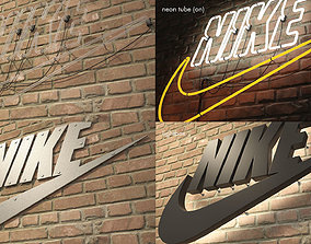 logo sign nike 3d VR / AR ready