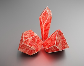 3D model realtime Crystals