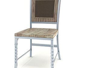 Light Wood Chair 3D model