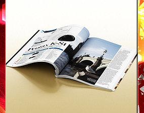 Magazine 01 3D