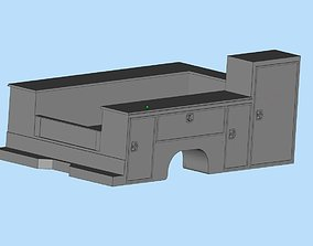 Service truck Body AMT Cars scale 25 printable file
