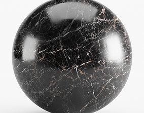 3D model Black marble seamless material