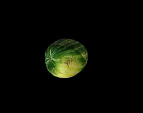 green 3D watermelon