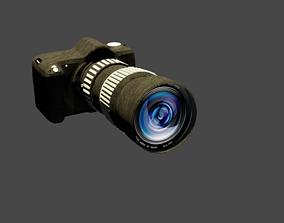 3D asset animated Camera Canon EOS 70D DSLR