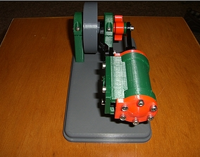 3D print model Spool air engine