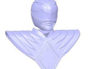 3D printable model Green Ranger Helmet and Shield