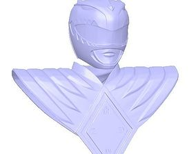 3D printable model Green Ranger Helmet and Shield