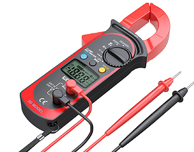 Digital Clamp Meter 3D model