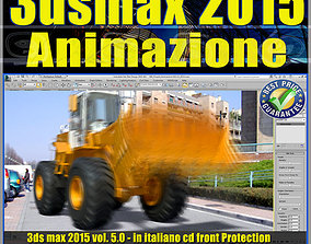 animated 3ds max 2015 Animazione volume 5 Italiano cd