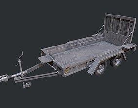 3D model Plant Trailer - Trailer - Vehicle Trailer -