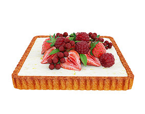3D model Berry quadratic tart