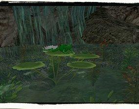 Green Frog 3D