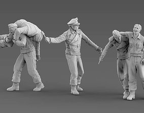 German Tank Crew 3D print model