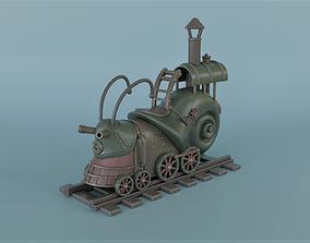 3D print model Steampunk snail locomotive