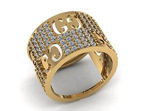 3D print model WR000009 gold-ring