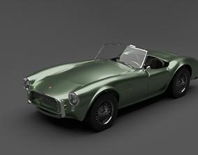 3D model 1962 Shelby Cobra