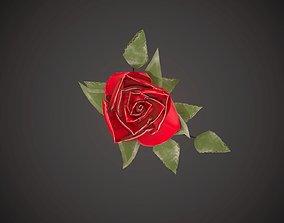 3D model One rose