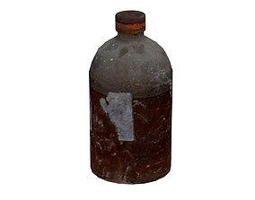 Old Drugs Bottle 01 01 3D asset