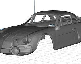 Renault Alpine Body Car Printable 3D