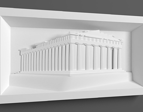 Parthenon for CNC Router 3D printable model