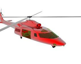 3D model Helicopter v1