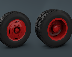 Wheels Truck - Back and Front 3D printable model
